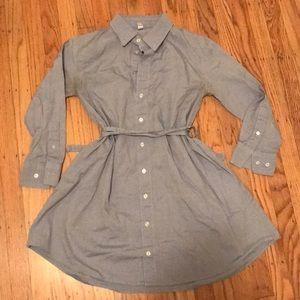 American Apparel Oxford Shirt Dress